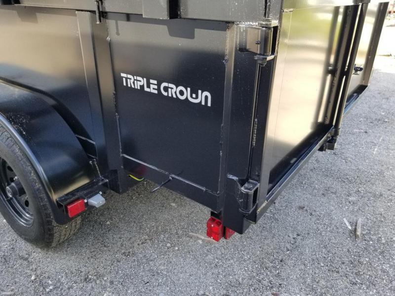 Triple Crown Trailers 6x12 Dump Dump Trailer