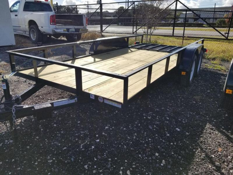 2020 Triple Crown Trailers 6'4x16 Utility Trailer Landscape