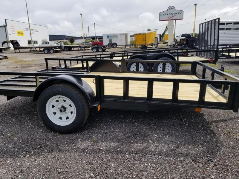 2020 Triple Crown Trailers 7x12SA ATV Utility Trailer