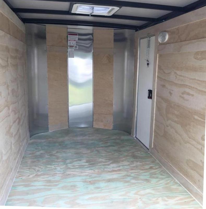 Arising 5x10x5 Enclosed Cargo Trailer Motor Cycle Storage