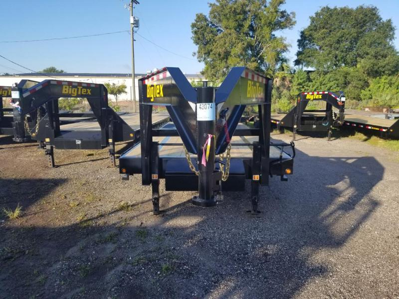 2021 Big Tex Trailers 25GN-35+5MR Equipment Trailer