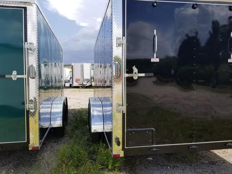 7 x 16 x 7  Arising Industries Enclosed Cargo Motorcycle Storage