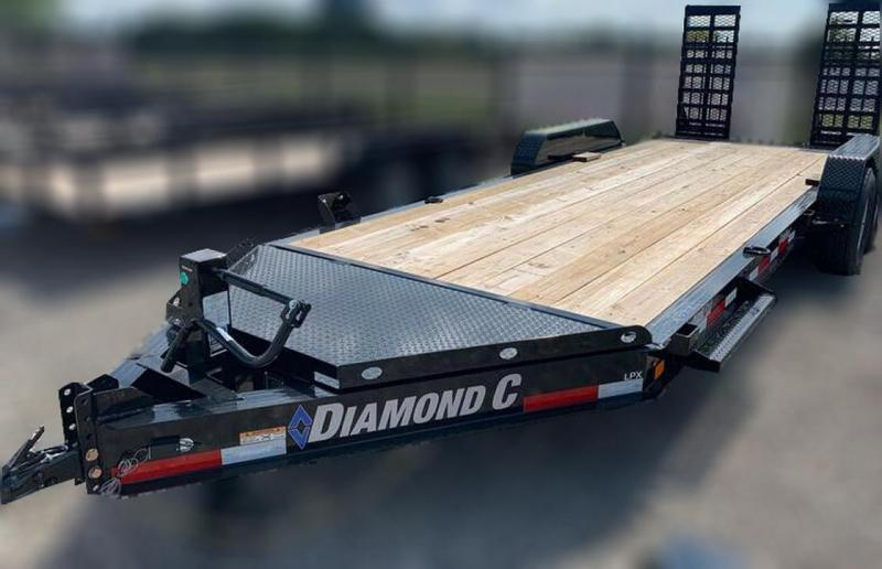 "Diamond C Trailers LPX207 20'x82""  Equipment Trailer"