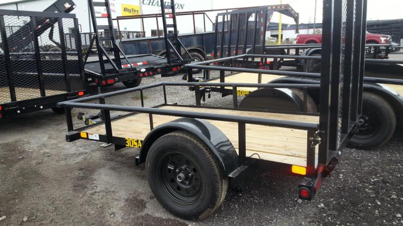 2020 Big Tex Trailers 30SA-08 Utility Trailer  Lawncare