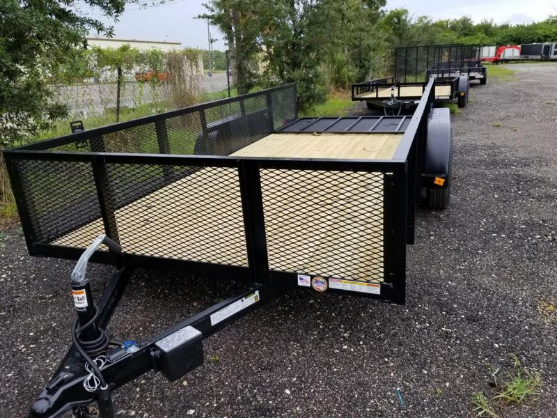 Triple Crown Trailers 6'4x16 Mesh Utility Trailer  Lawncare
