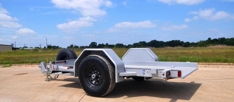 Diamond C Trailers DSA107--L 12X77 Hyd. Dampened Tilt Equipment Trailer