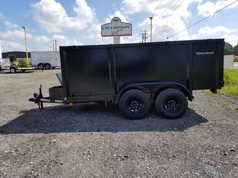 2021 Triple Crown Trailers 6'4x12 Dump Trailer