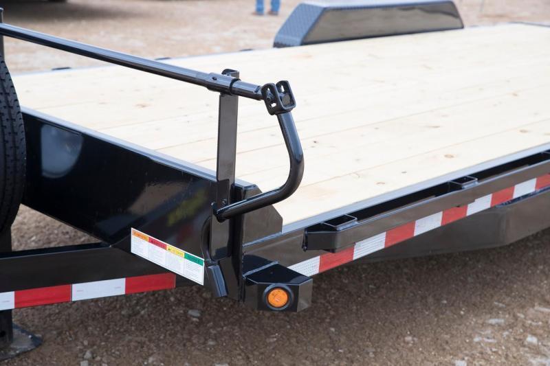 Big Tex 14ET -20' TA Equipment 7k Axles 20' TANDEM AXLE EQUIPMENT TRAILER KNEE RAMPS