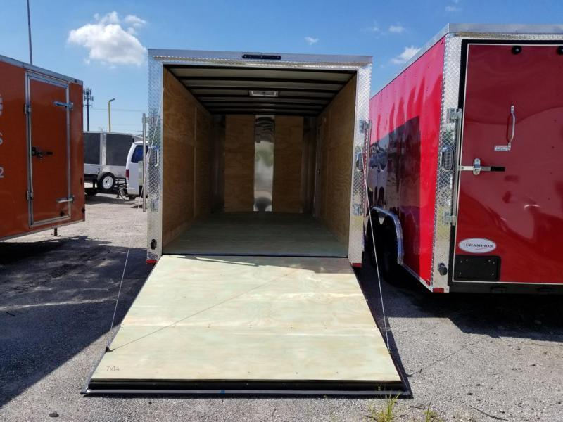7 x 16 x 6  Arising Industries Enclosed Cargo Motorcycle Storage