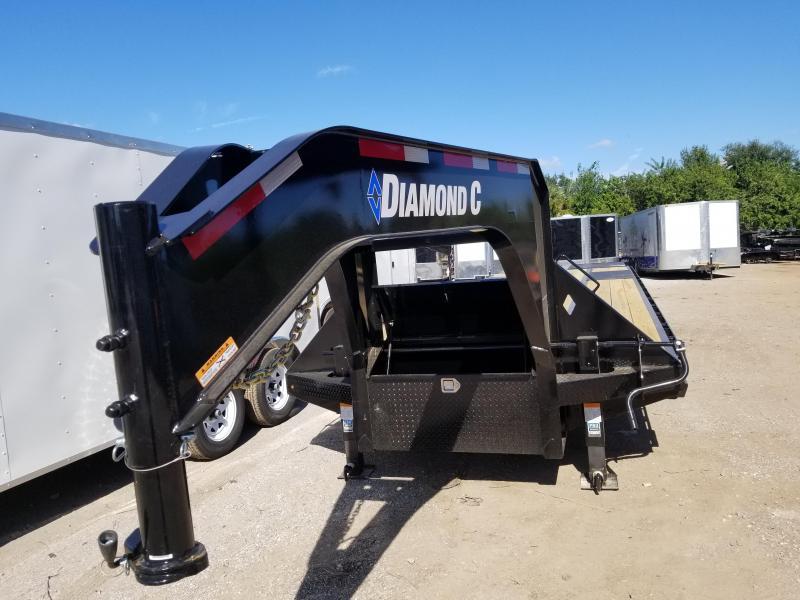 Diamond C Trailers FMAX210 25+5 Goose Neck Equipment Trailer 30'