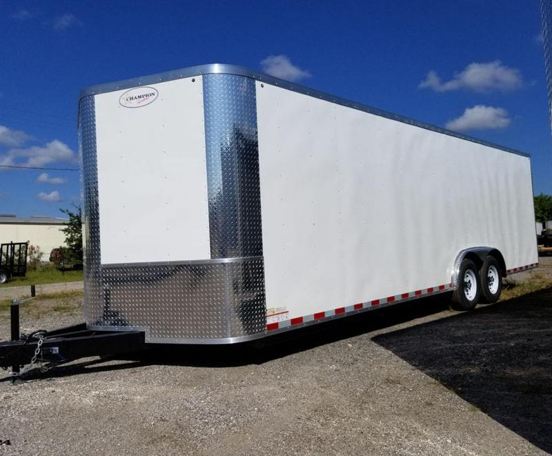 Arising Enclosed Trailer 8.5x20x6'6 5.2K Axle Enclosed Cargo Car Hauler