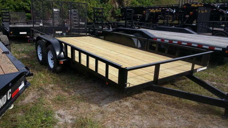 2021 Triple Crown Trailers 7x16 ATV Utility Trailer