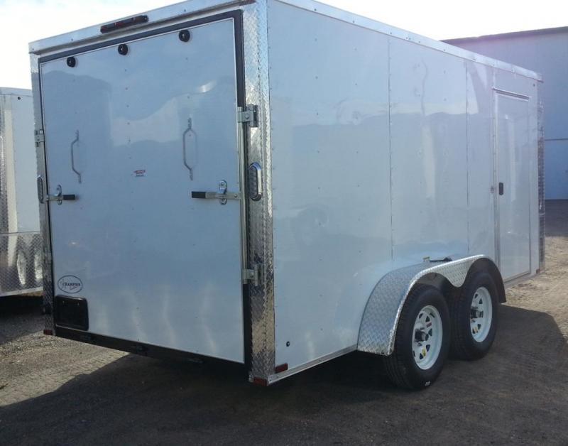 7 x 16 x 6TA  Arising Industries Enclosed Motorcycle Storage