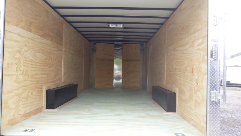 Arising 8 5x24x6 6 Enclosed Cargo Carhauler motorcycle