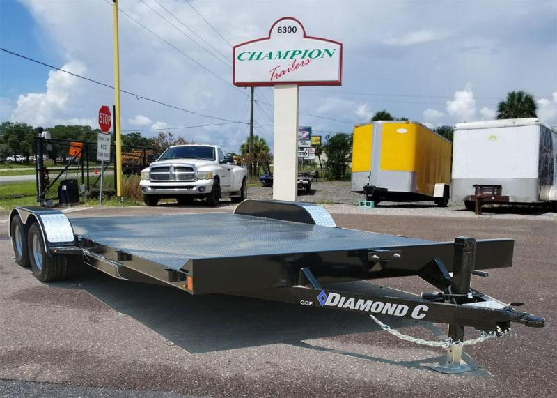 2021 Diamond C Trailers GFS235 20x83 Car / Racing Trailer