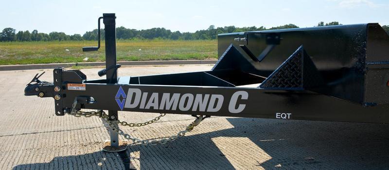 "2021 Diamond C Trailers EQT207 20X82"" Equipment Trailer"