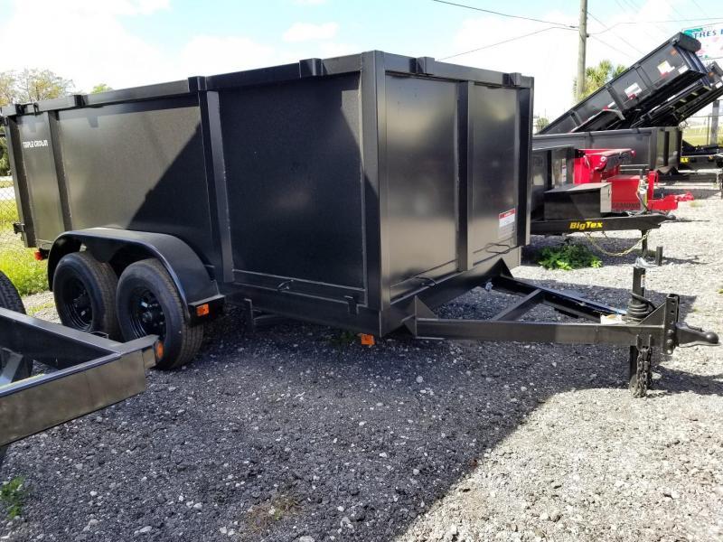 2020 Triple Crown Trailers 6x12 4' sides Dump Dump Trailer