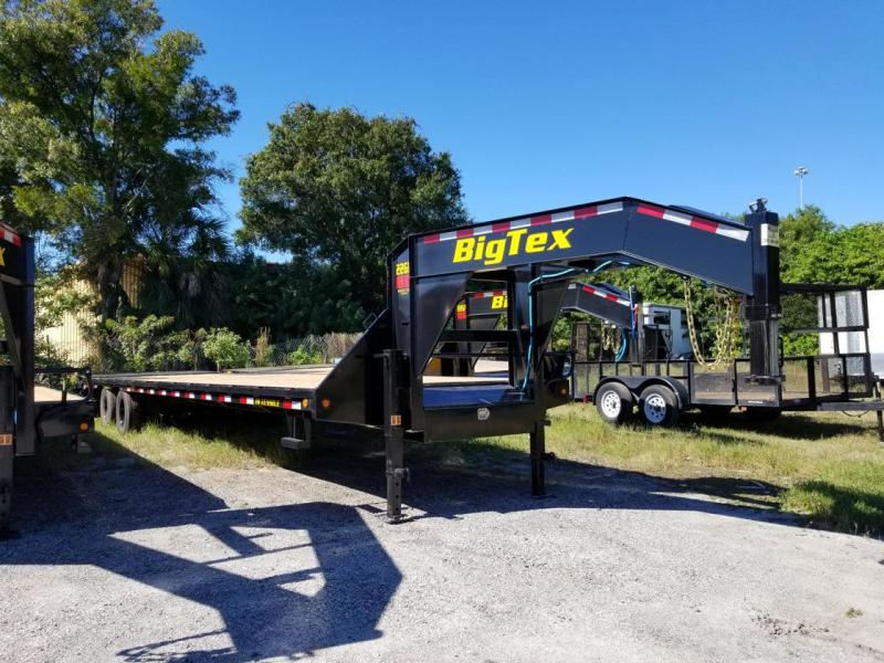 Big Tex Trailers 22GN-25+5 Mega Ramps Equipment Trailer 30' Gooseneck