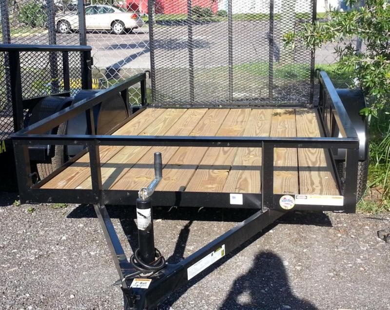 TC 5 x 8 Utility Trailer with Landscape