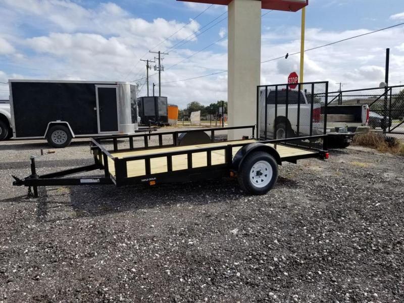 2020 Triple Crown Trailers 7x12SA ATV Utility Trailer
