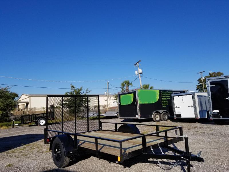 2021 Rhino 6'4x10 Utility Trailer Landscape