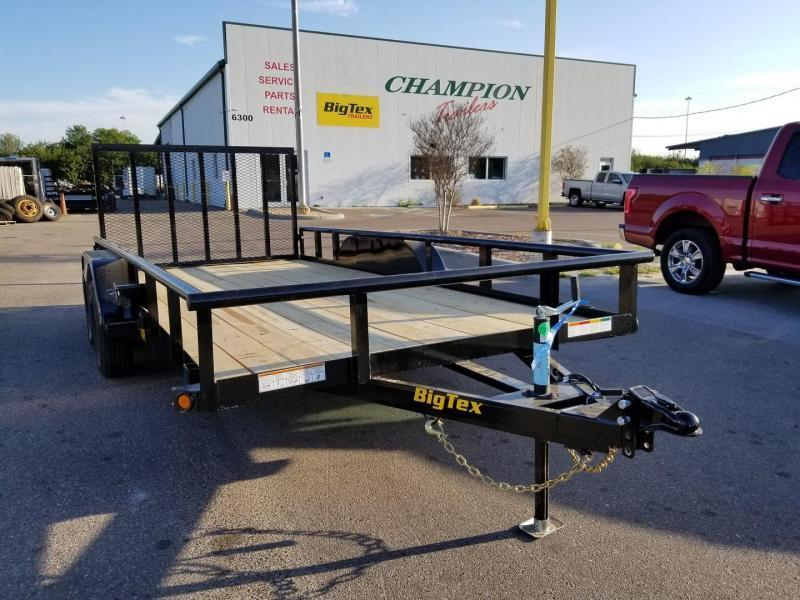 Big Tex 70PI-16' Trailers Utility Pipe Top Landscape