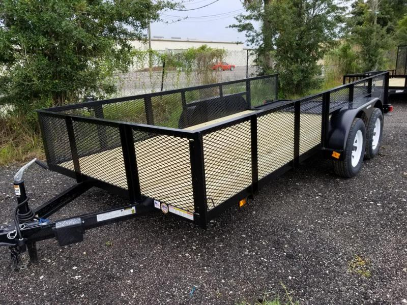 2020 Triple Crown Trailers 6 4x16 Utility Trailer Lawncare