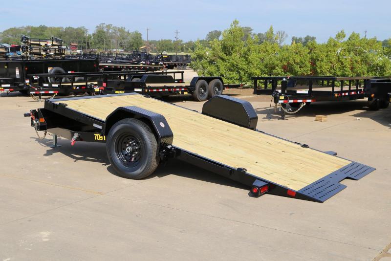 2021 Big Tex Trailers 70ST-13 Equipment Trailer