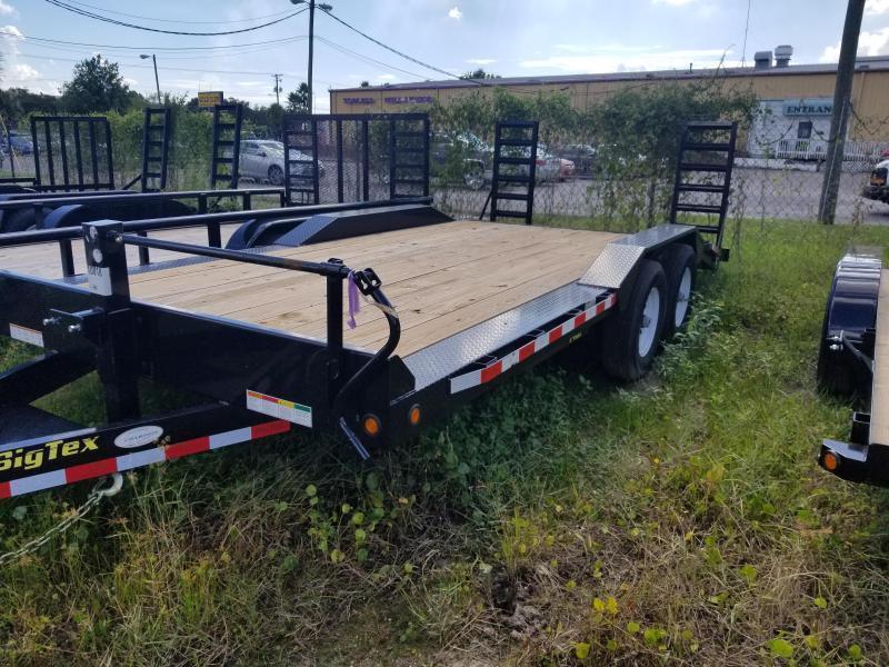 Big Tex Trailers 14DF Big Tex Drive over Fender Equipment trailer