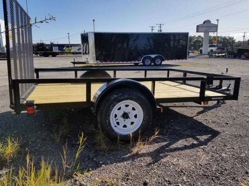 2021 Triple Crown Trailers 6'4x10 Utility Trailer