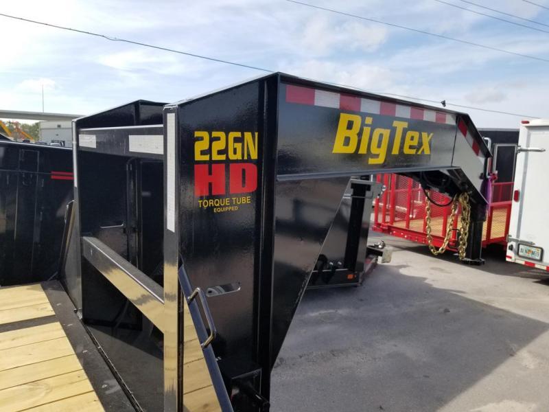 Big Tex 22GN 20'+5'MR Gooseneck Tandem Dual Equipment Hauler Trailer 25' Gooseneck Trailer