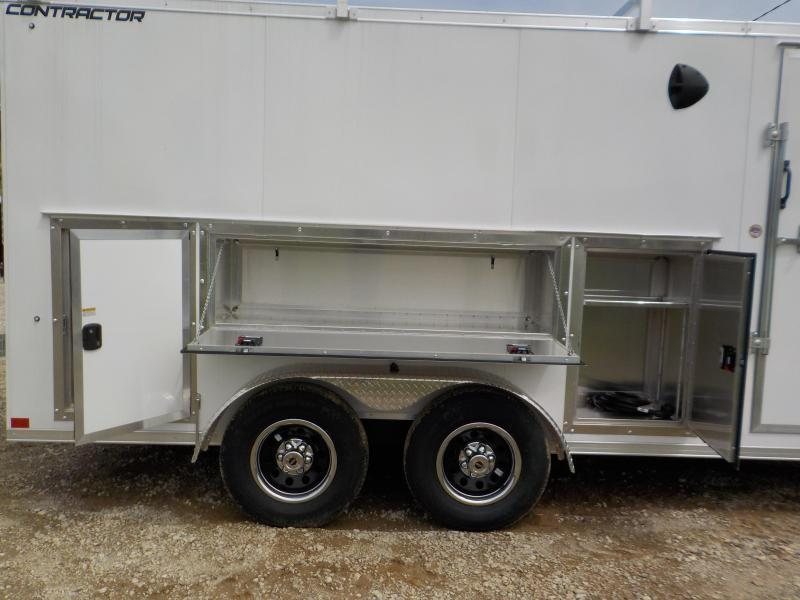 2022 Formula Trailers Contractor DLX 8.5X18 Enclosed Cargo Trailer