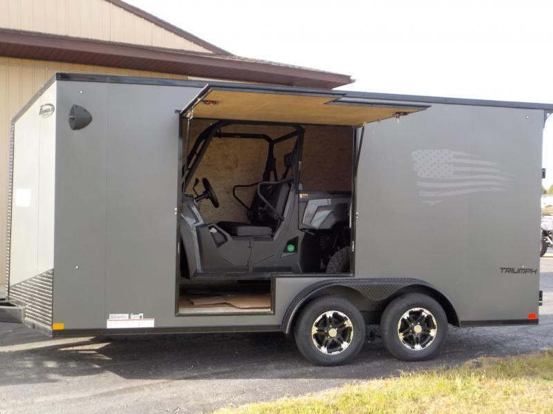 2022 Formula Trailers Triumph Blackout Enclosed Cargo Trailer
