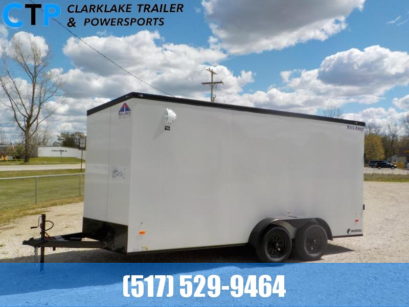 2021 Haul-About Cougar 7X16 Enclosed Cargo Trailer