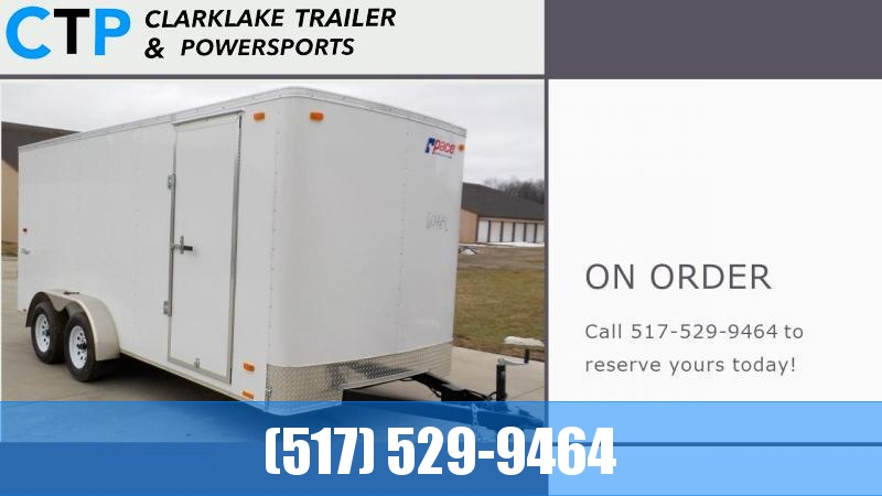 2022 Pace American Outback 7X16 Enclosed Cargo Trailer