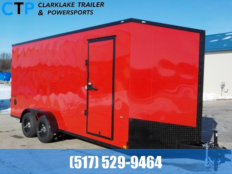 2021 Formula Trailers Triumph Blackout 7X18 Enclosed Cargo Trailer