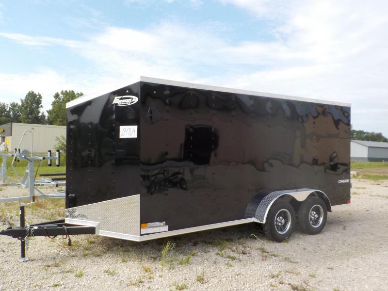 2022 Formula Trailers Conquest 7X16 Enclosed Cargo Trailer