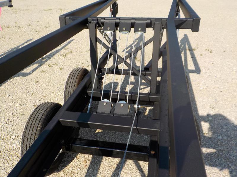 2022 Hoosier Trailers 24' Tandem Axle Crank Up Boat Trailer
