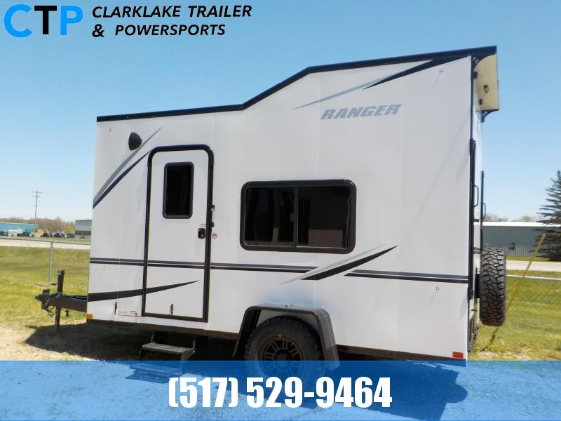2021 Formula Trailers Ranger Off Grid Toy Hauler RV