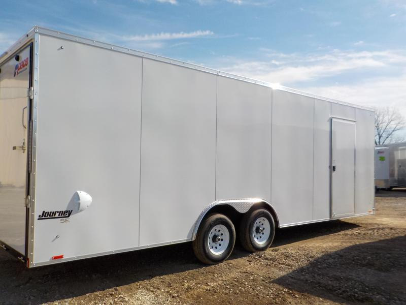 2021 Pace American Journey SE 8.5 X 24 Enclosed Cargo Trailer