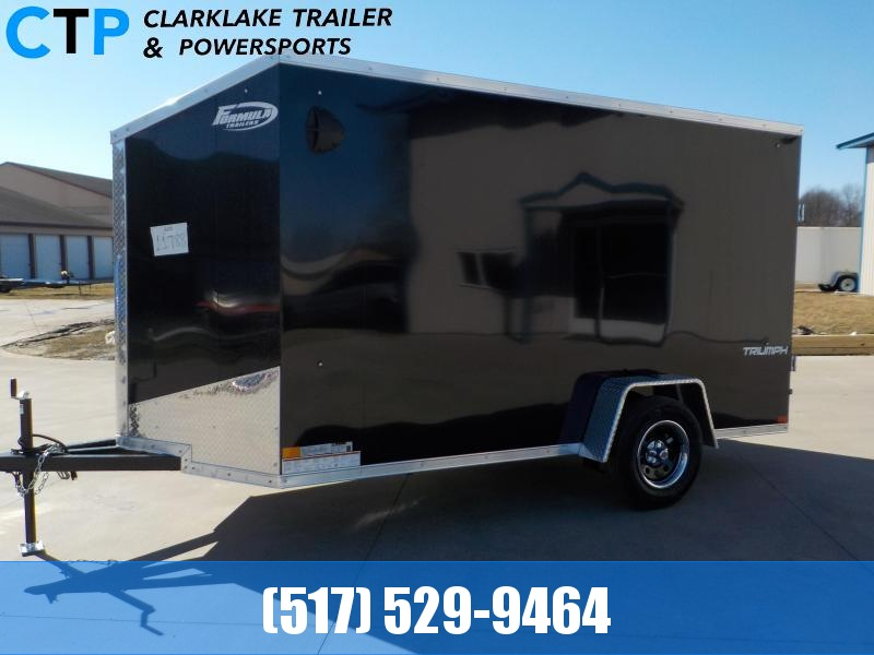 2022 Formula Triumph 6X12 Enclosed Cargo Trailer