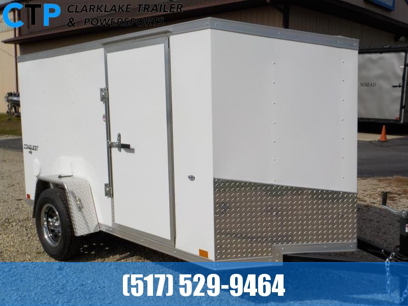 2020 Formula Trailers Conquest 5X10 Enclosed Cargo Trailer