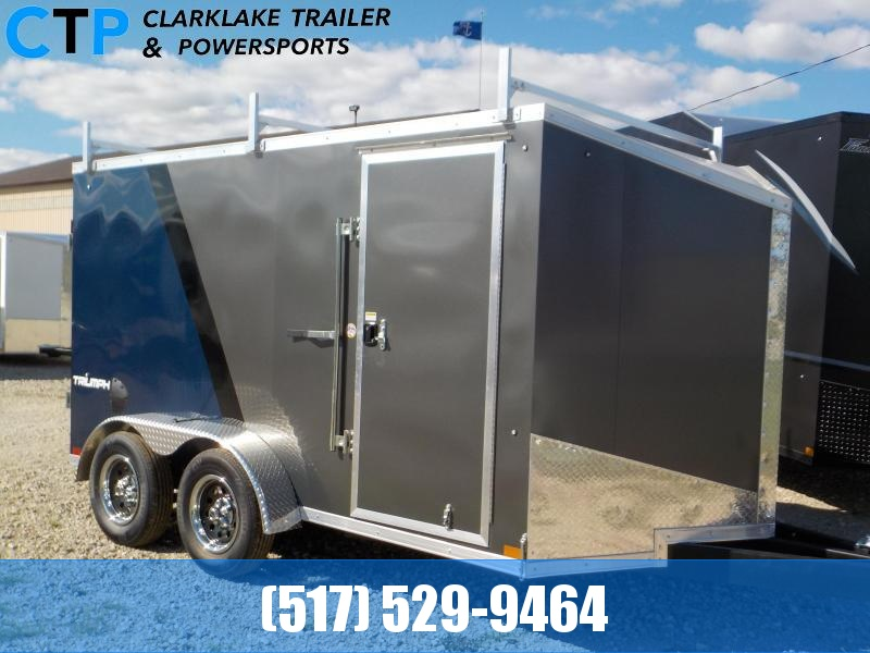 2021 Formula Triumph 7X12 Enclosed Cargo Trailer