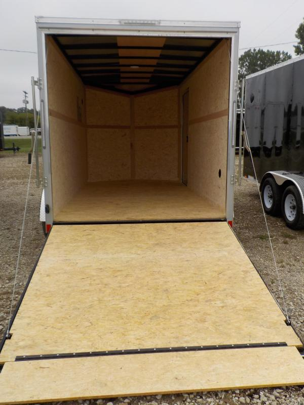 2021 Pace American Journey SE 7X14 Enclosed Cargo Trailer