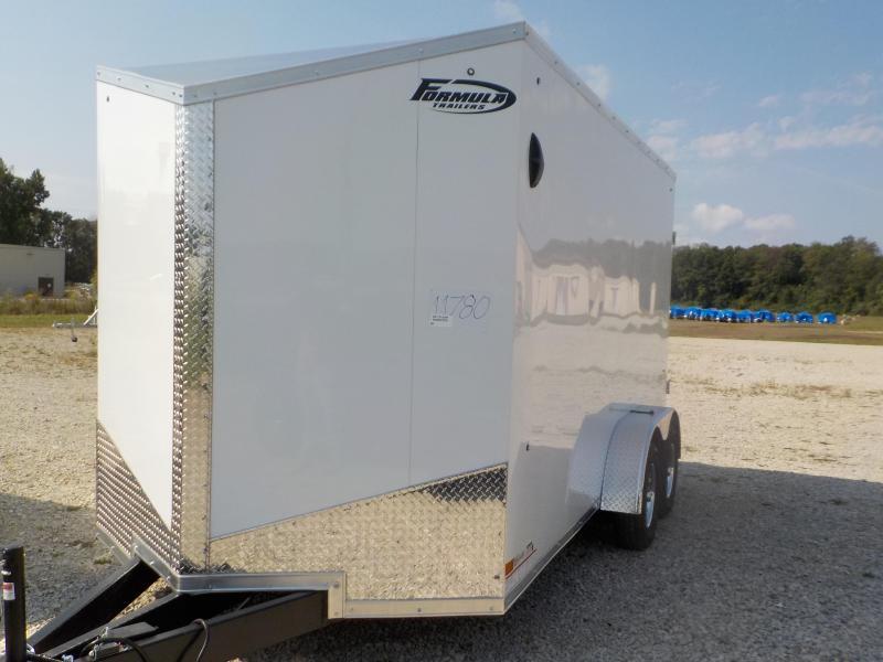 2022 Formula Trailers Conquest 7X14 Enclosed Cargo Trailer
