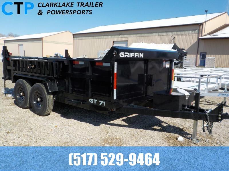 2021 Griffin 7X14 Dump Trailer