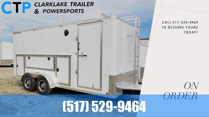 2022 Formula Trailers Contractor DLX 7X16 Enclosed Cargo Trailer