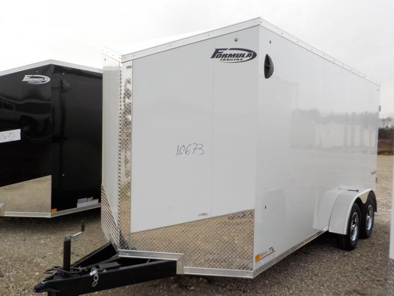 2021 Formula Trailers Triumph 7X16 Enclosed Cargo Trailer