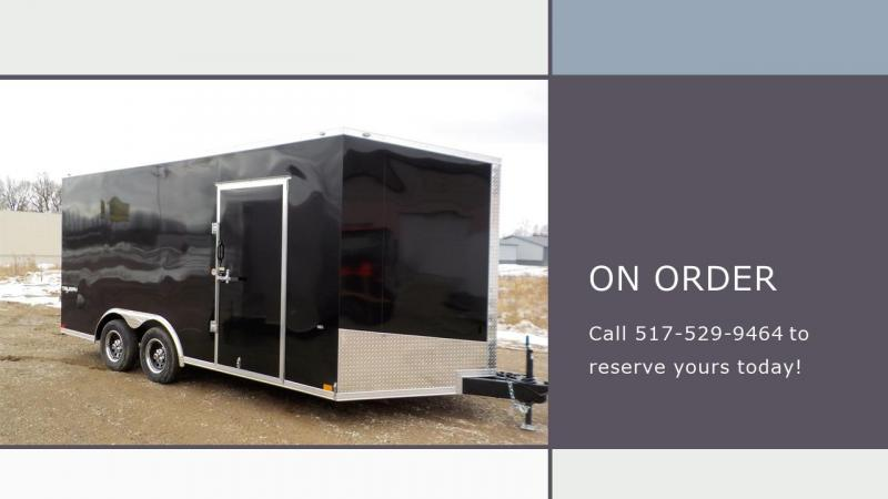 2022 Formula Trailers Triumph 8.5X16 Cargo Slope Nose Cargo / Enclosed Trailer