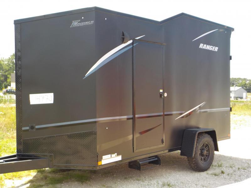 2021 Formula Ranger Black Out Enclosed Cargo Trailer